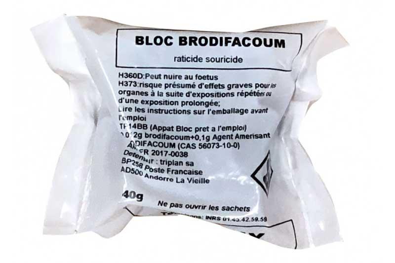 bloc rodonticide